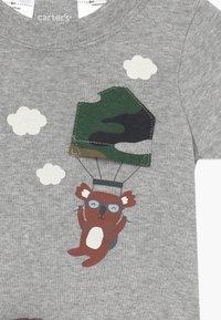 Carter's - Kalhoty - mottled grey/khaki - 4