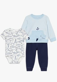 Carter's - CARDI WHALE SET - Body - blue - 0