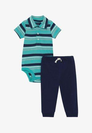 POLO SET - Trousers - blue/dark blue