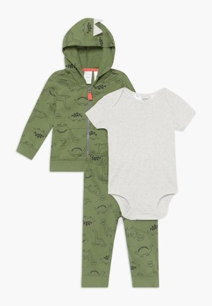 DINO SET - Trainingspak - khaki