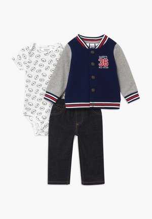 ALLSTAR SET  - Mikina na zip - Navy