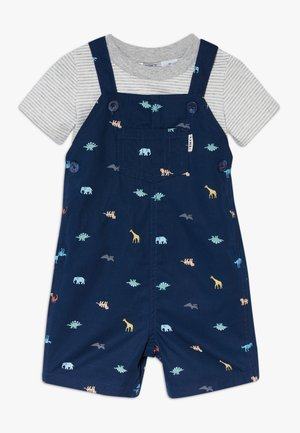 SHORTALL DINOS SET - Peto - navy