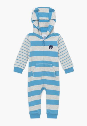 STRIPES - Overal - blue/white