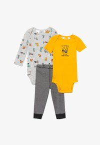 Carter's - SET - Pantaloni - yellow/mottled grey - 3