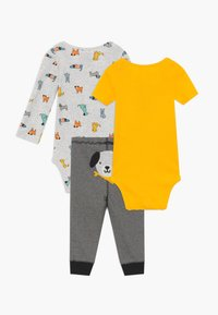 Carter's - SET - Pantaloni - yellow/mottled grey - 1
