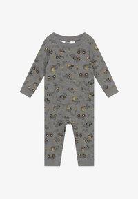 Carter's - CONSTRUCTION - Jumpsuit - mottled grey/multi-coloured - 3