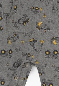 Carter's - CONSTRUCTION - Jumpsuit - mottled grey/multi-coloured - 4