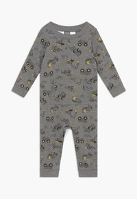 Carter's - CONSTRUCTION - Jumpsuit - mottled grey/multi-coloured - 0