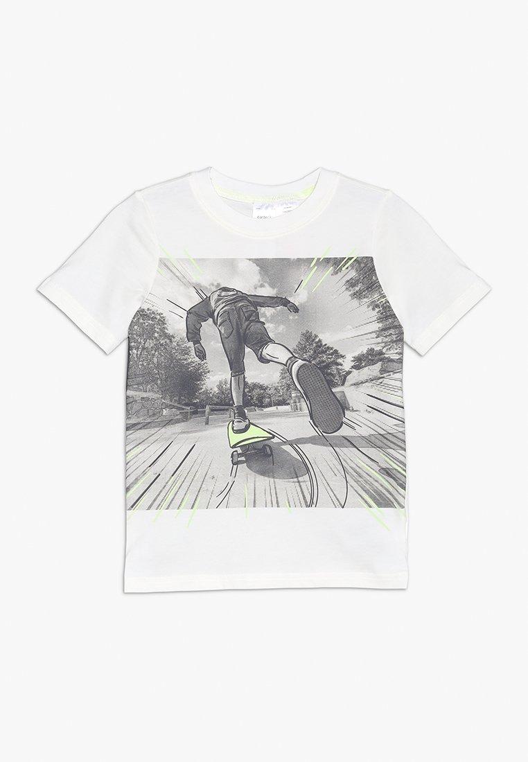 Carter's - SKATEBOARD PHOTOREAL TEE - Camiseta estampada - ivy ivory