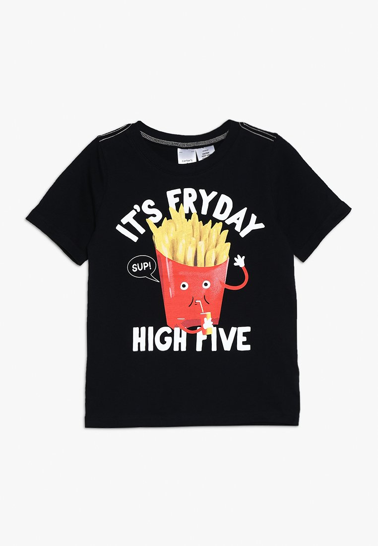Carter's - FRYDAY TEE - T-Shirt print - black