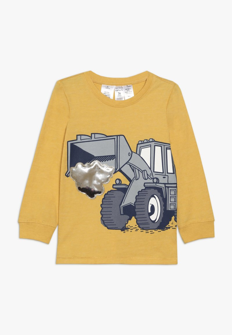 Carter's - TODDLER LONG SLEEVE TEE - Long sleeved top - yellow