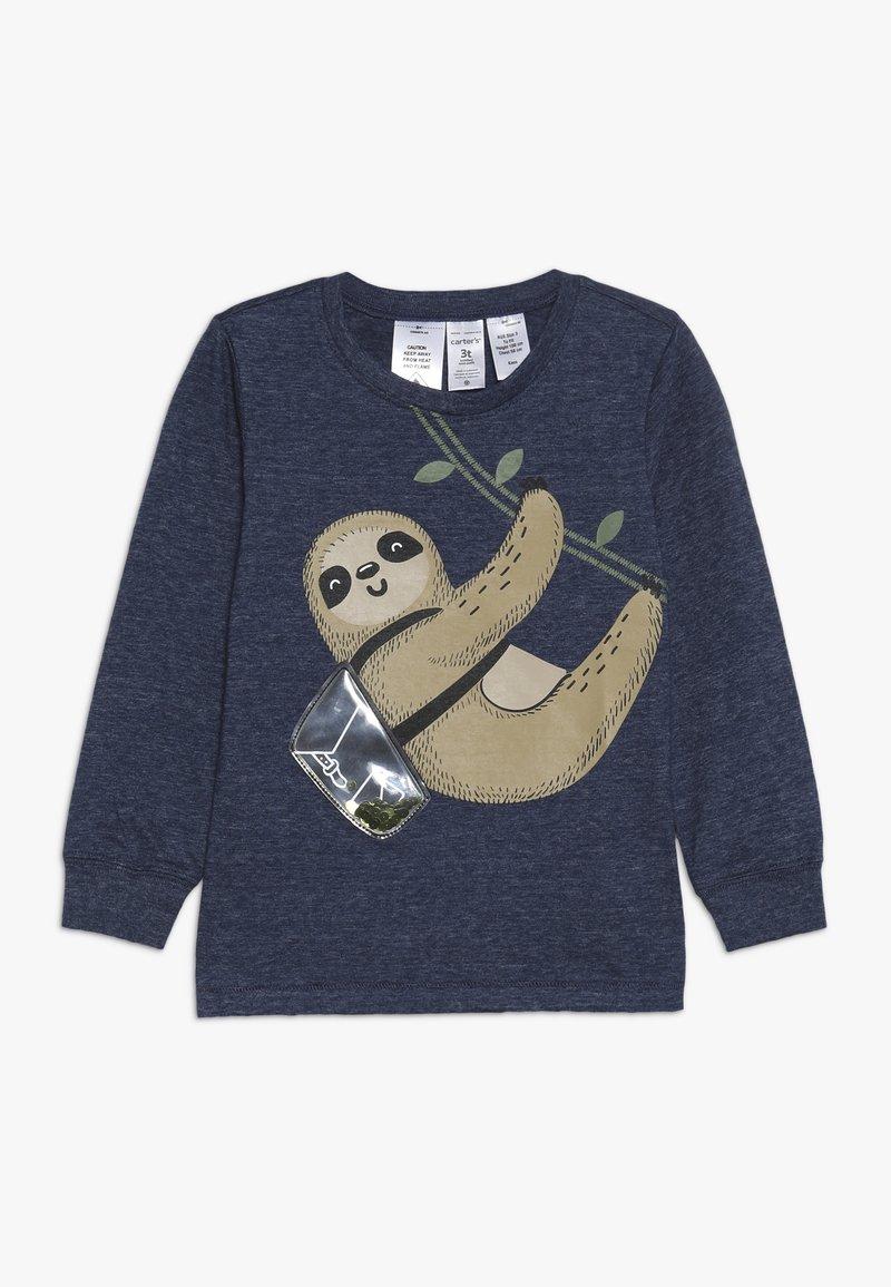 Carter's - TODDLER LONG SLEEVE TEE - Langærmede T-shirts - navy