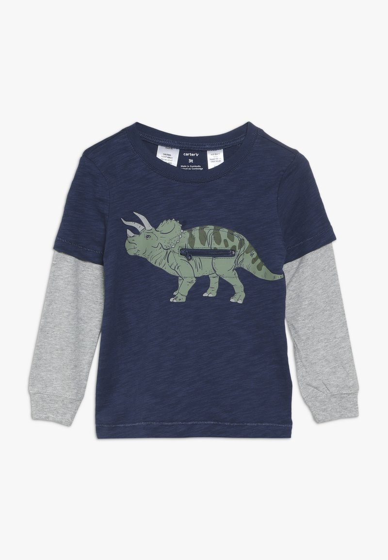 Carter's - TODDLER LONG SLEEVE TEE - Longsleeve - navy