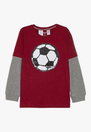 KIDS FLIP SEQUIN TEE - Långärmad tröja - red