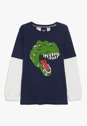 KIDS FLIP SEQUIN  - Longsleeve - navy