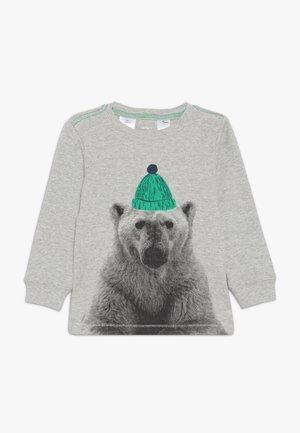 Långärmad tröja - grey heather