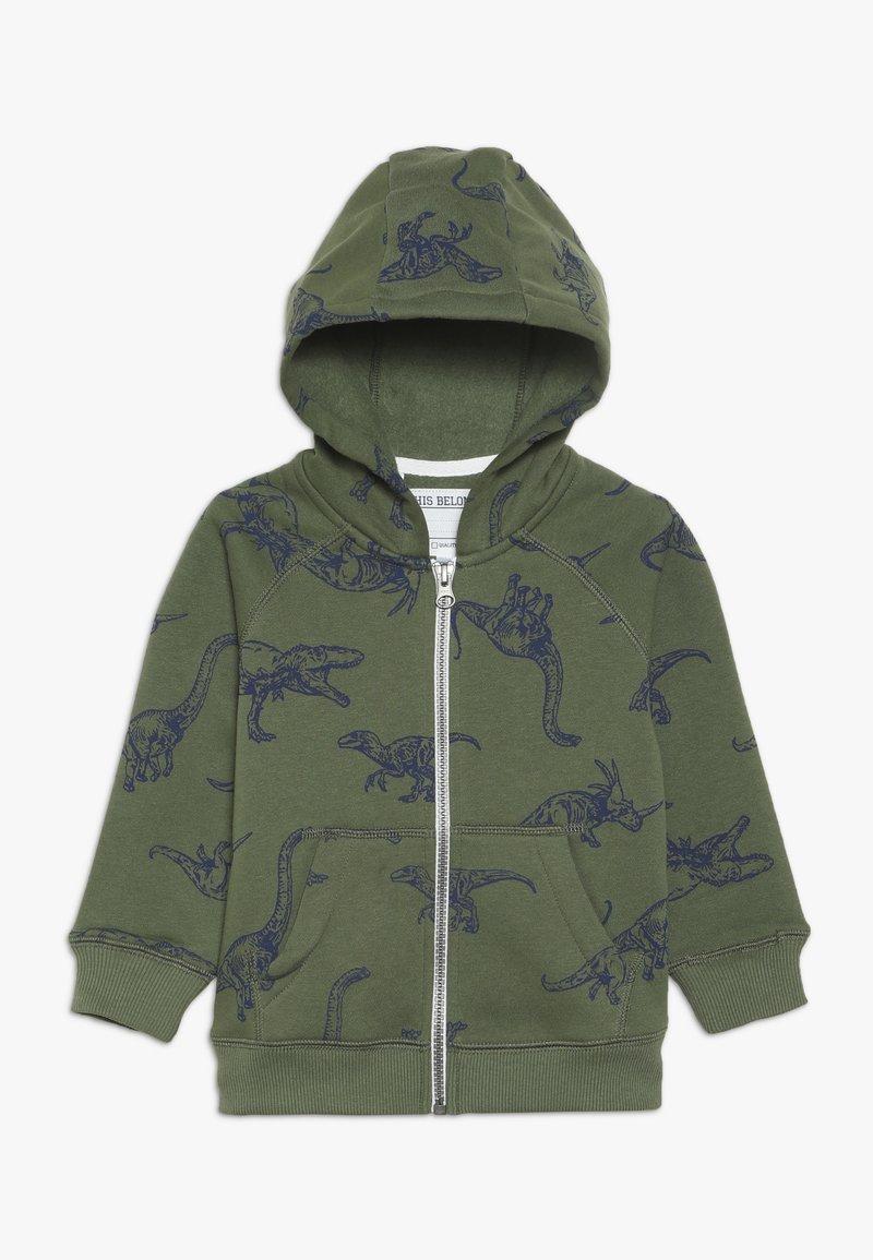 Carter's - TODDLER HOODIE - Zip-up hoodie - dark green