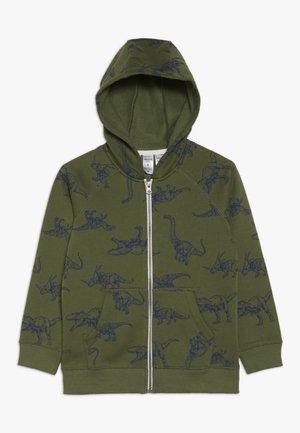 KIDS HOODIE - veste en sweat zippée - dark green