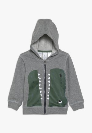 TODDLER CHARACTER HOODIE - Huvtröja med dragkedja - heather