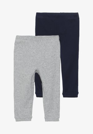 BOY BABY 2 PACK - Legging - navy/grey