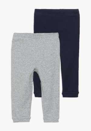 BOY BABY 2 PACK - Leggings - navy/grey