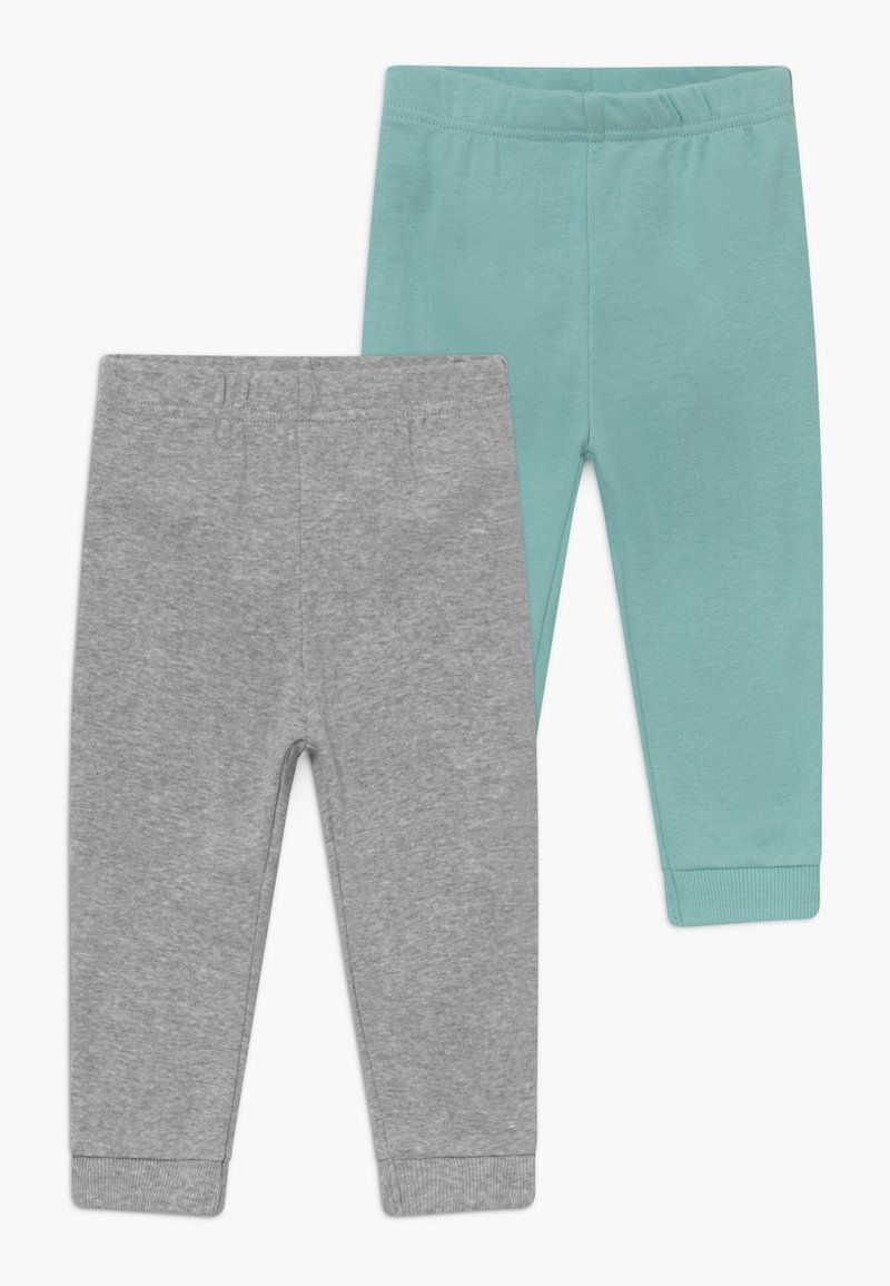 Carter's - NEUTRAL BABY 2 PACK - Broek - mottled grey/turquoise