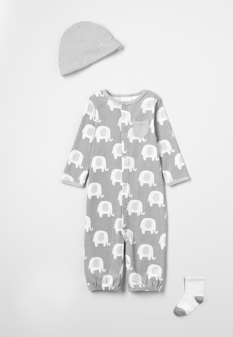Carter's - LAYETTE SET NEUTRAL ELEPHANT - Mütze - grey