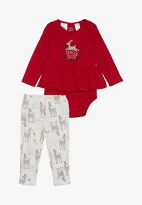 Carter's - GIRL HOLIDAY BABY - Legíny - white - 4