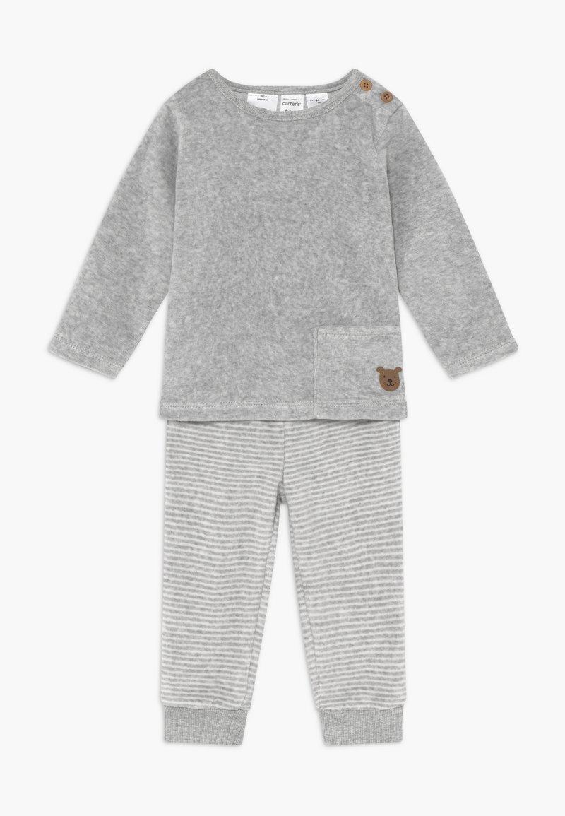 Carter's - BABY SET  - Sweater - gray