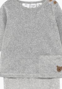 Carter's - BABY SET  - Sweater - gray - 4