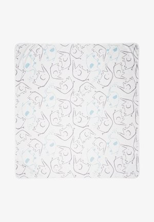 BLANKET NEUTRAL BABY - Manta infantil - white/grey