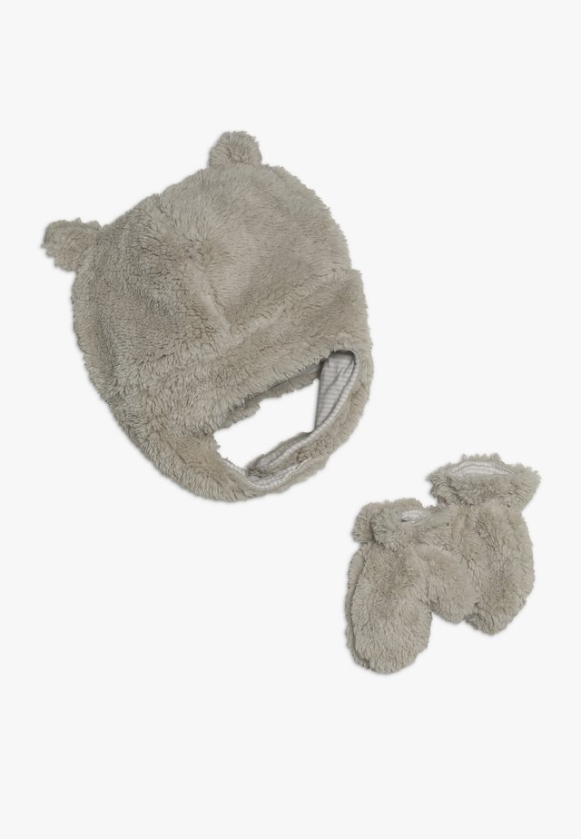 HAT BABY SET - Bonnet - khaki