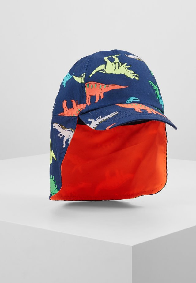 PRINT DINO - Cap - dark blue/multicoloured