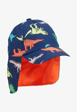PRINT DINO - Gorra - dark blue/multicoloured