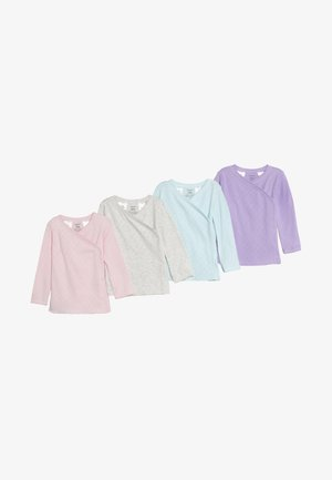 SIDESNAP BABY 4 PACK - Unterhemd/-shirt - multi-coloured