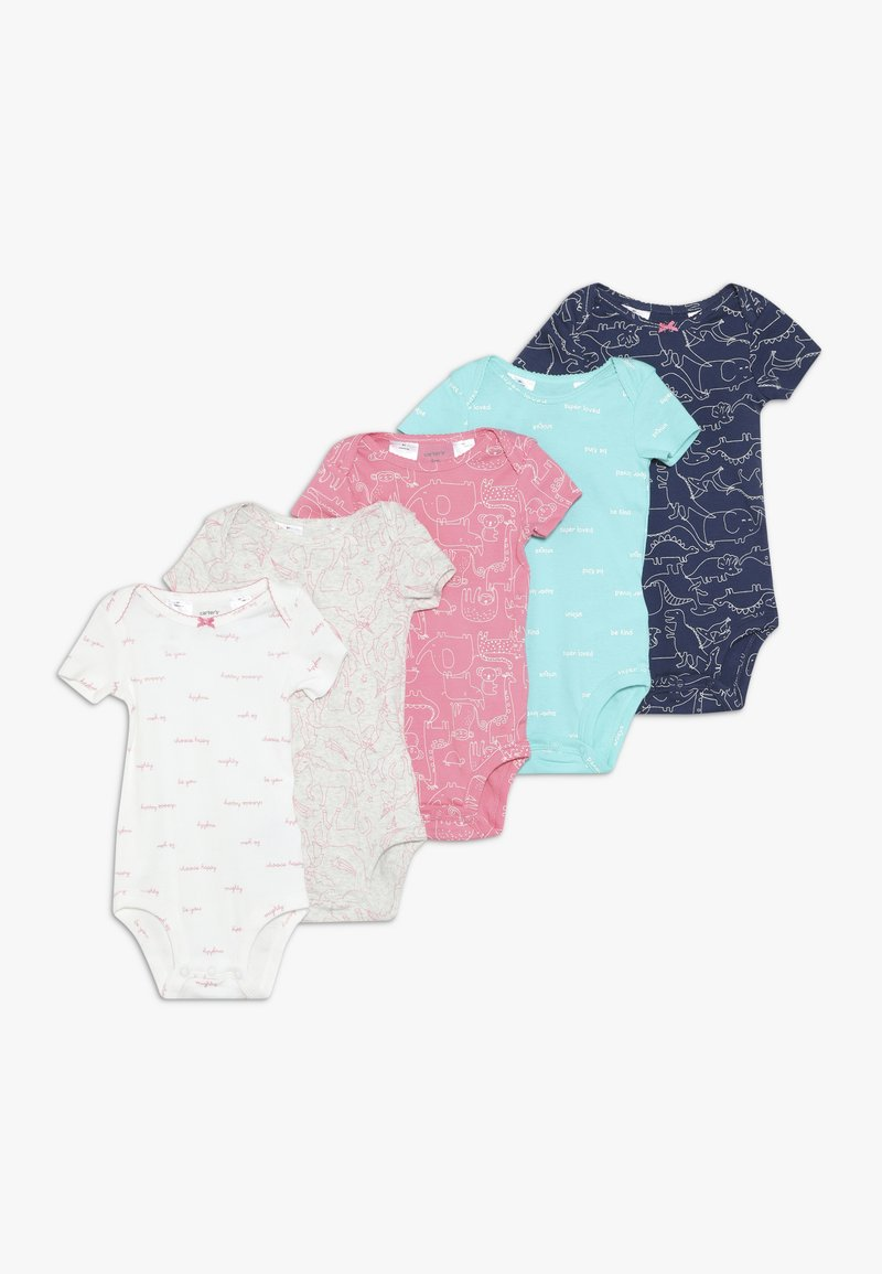 Carter's - GIRL BABY 5 PACK - Body - multi-coloured/turquoise