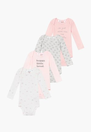BABY 4 PACK - Body - pink
