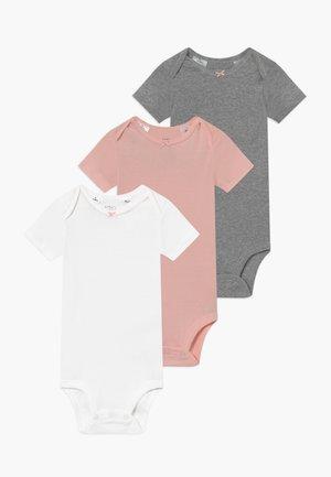 GIRL BABY 3 PACK - Body - light pink/mottled grey