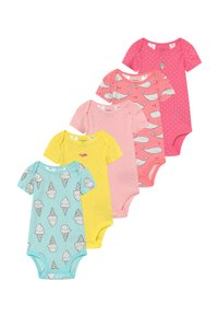 Carter's - ANIMALS 5 PACK - Body - multi-coloured/yellow - 0