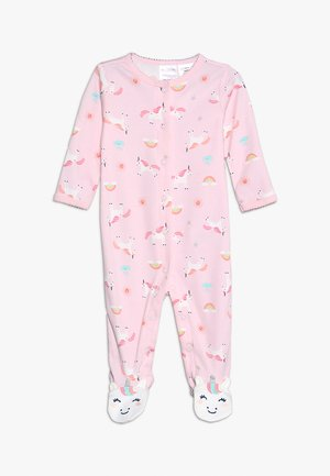 BABY INTERLOCK UNICORN - Pyjama - rose