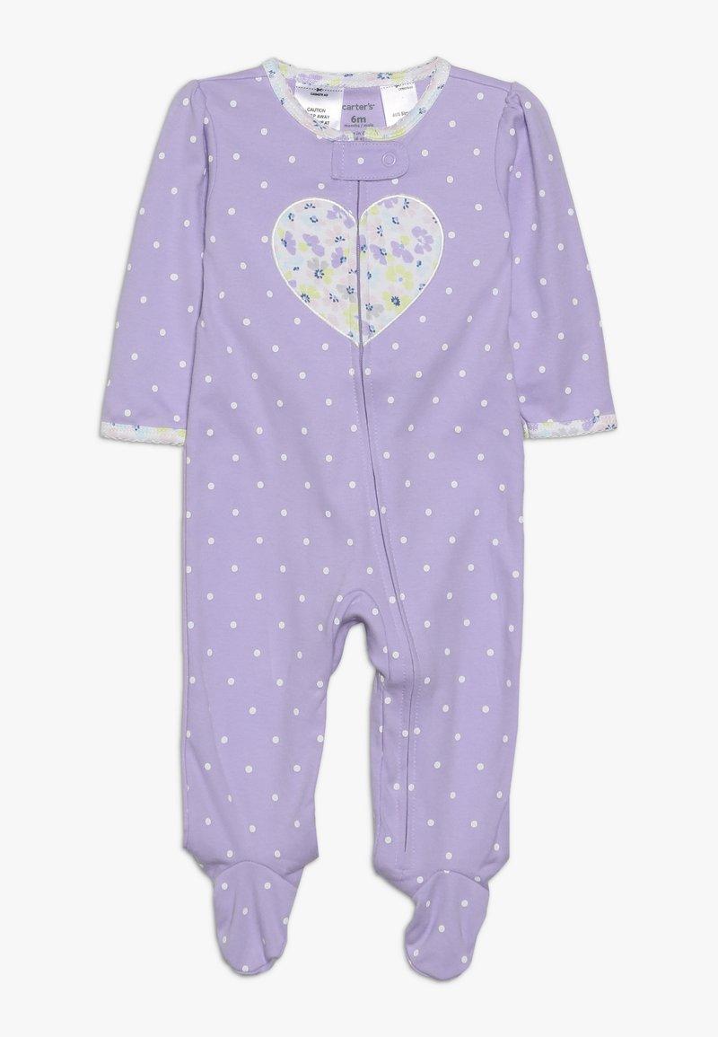 Carter's - INTERLOCK BABY - Pyžamo - purple