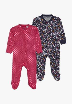 BABY 2 PACK - Pyjama - dark blue/pink