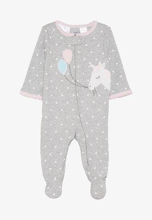 INTERLOCK UNICORN BABY - Pyjamas - grey