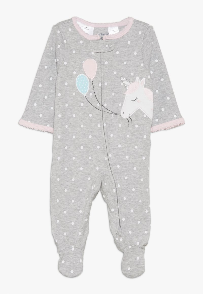 Carter's - INTERLOCK UNICORN BABY - Pyjama - grey