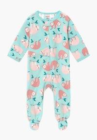 Carter's - SLOTHS BABY - Pyžamo - turquoise - 0