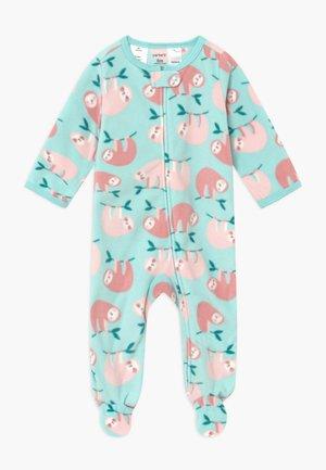 SLOTHS BABY - Pyjamas - turquoise