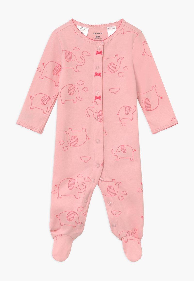 Carter's - INTERLOCK ELEPHANT - Pyjamas - pink