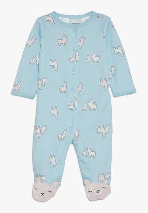 LLAMAS - Pyžamo - turquoise