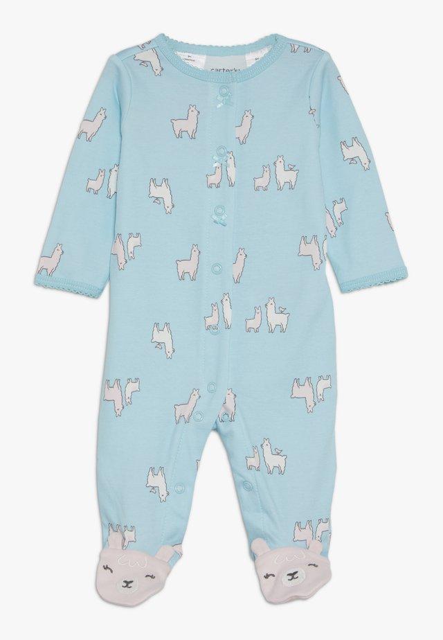 LLAMAS - Pyjamas - turquoise