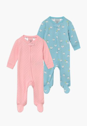 2 PACK - Pyjama - light blue/light pink